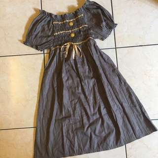 DRESS - green army Unbranded