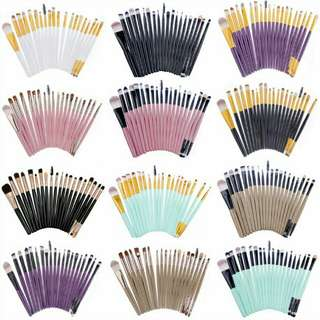 ZM #m51 20pcs make Up Brushes