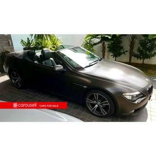 BMW 6 Series 630i Cabriolet