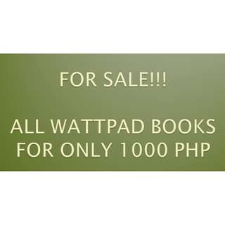 ALL WATTPAD BOOKS