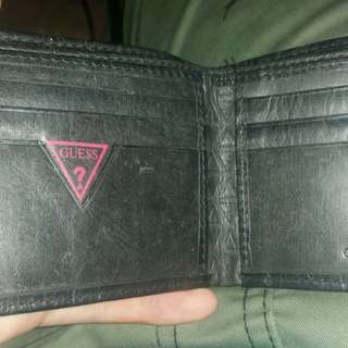 second hand authentic guess wallet