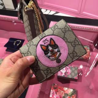 Gucci limited edition Wallet 狗狗銀包