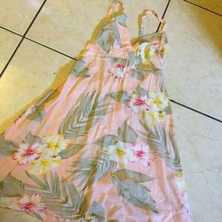 Mini DRESS - flower pink Unbranded