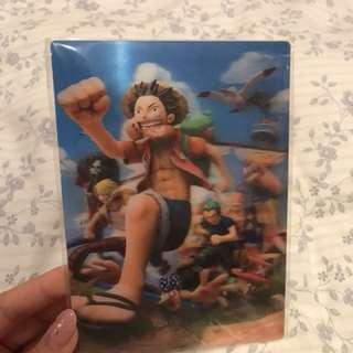 海賊王 One Piece 特別版 立體Post Card