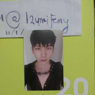 WTT/WANT TO TRADE - Vixx Hyuk Hades Photocard