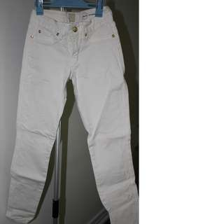 Authentic Marciano White Denim Size 23