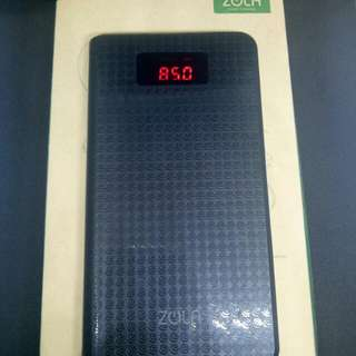 Powerbank Zola Trident 10.000mAh original murah meriah.