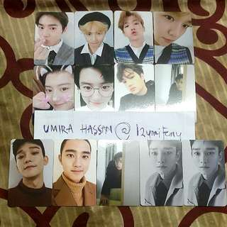 WTT/WANT TO TRADE - EXO Universe Photocard