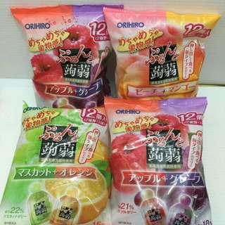 日本ORIHIRO蒟蒻果凍