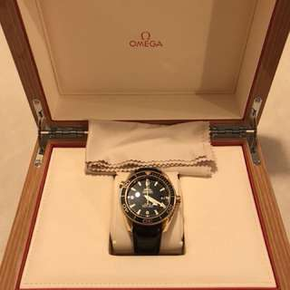 OMEGA Sea Planet Ocean 18k Red Gold 2011 600M 45.5MM