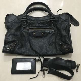 Balenciaga city rhw 2009 with strap, mirror and replacement dustbag