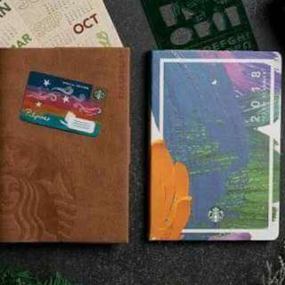 Starbucks 2017 planner Big Green and Small purple available
