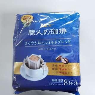 UCC 職人濾泡式咖啡 藍色 (7gx18入)