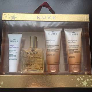 NUXE skin care set