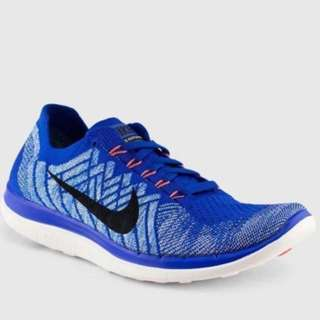 Nike WMNS Free 4.0 Flyknit Running Shoes (Size US8)