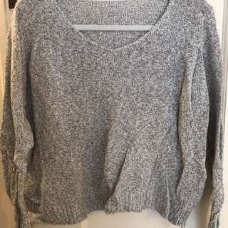 Brandy Melville Heather Grey Sweater