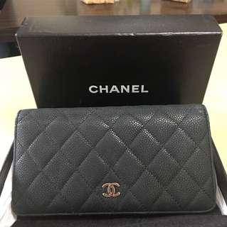 Chanel 長款銀包