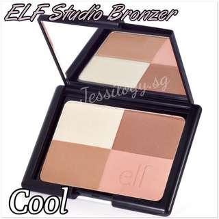 INSTOCK ELF Studio Bronzer - COOL / ELF Cosmetics / e.l.f. Cosmetics Bronzer in COOL