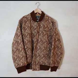 玫瑰鋪毛外套 (古著.vintage)(特價700)