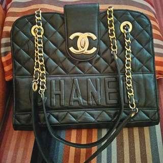 Vintage Chanel Shoulder Chain Bag
