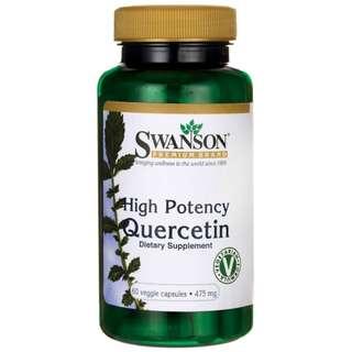 (USGMP) SW1671 Swanson Quercetin (洋蔥素 槲黃素) 475mg(每粒)  60粒
