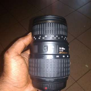 Sigma 70-300mm lens fungus affected and minolta 28-70m prime lens