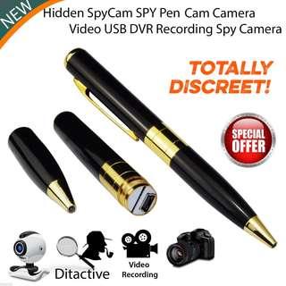 Hidden Spy Pen Camera Spy Camera Recording Video Audio Recorder Hidden Pen Camera Mini DV Spy USB DV Security CamCorder