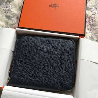 🆕Hermes Silk in short wallet