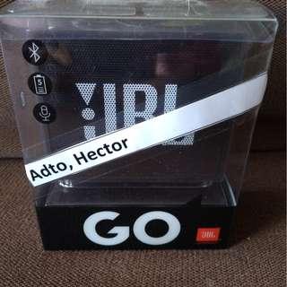 JBL Go Portable Bluetooth Speaker with Speaker Phone Function (Black)