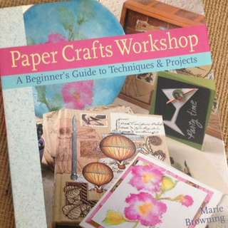 Paper crafts workshop book