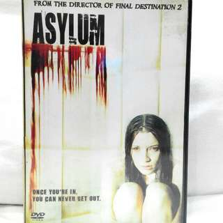 ASYLUM (rated M18 for violence) - Dvd