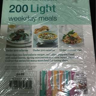 200 light meals recipe cookbook