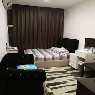 Studio Apartments for Rent @ Bugis Jalan Besar MRT 100m Washing Machine Cooker Toilet Fully Furnished