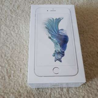 BRAND NEW SEALED iPhone 6s 128gb silver