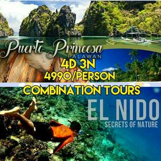 El Nido Puerto Princesa Combination Tours