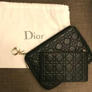 Classic Lady Dior Clutch 連小拉鍊銀包