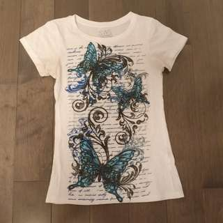 Butterfly Graphic t shirt