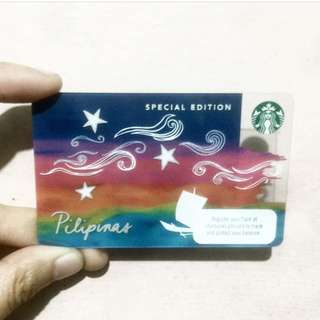Starbucks Special Edition Pilipinas Card