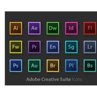 NEW Adobe Photoshop , llustrator , inDesign , Adobe Premiere Pro , After Effects , and a lot more. All in One. CC 2018 (LIFETIME)