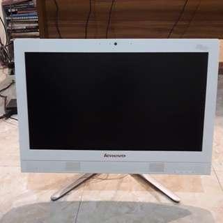 LCD komputer merk lenovo kondisi mati