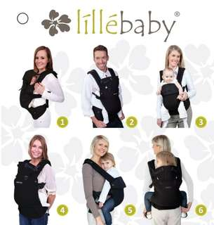 Baby Carrier lillebaby complete airflow