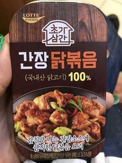 韓國醬油炒雞 即食料理 即食罐頭