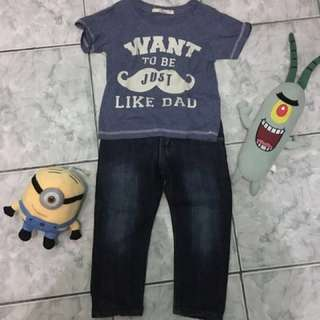 preloved clothes for boys 2-3 yo