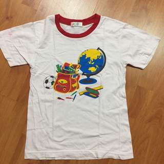 Boys basic tshirt
