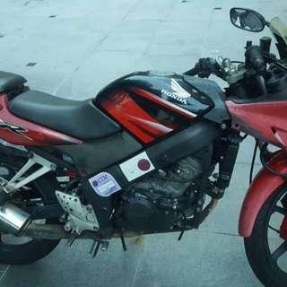 Honda CBR 150 year 2007, running condition