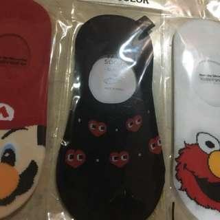 Ankle socks free size from korea; harga satuan 50.000, beli 3-3 nya potong 10rb jadi 140.000