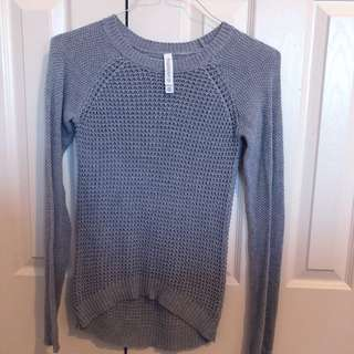 Grey Aeropostale Knit Sweater