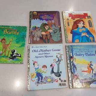 Little golden book series (8 books)