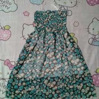 Blue dress/top