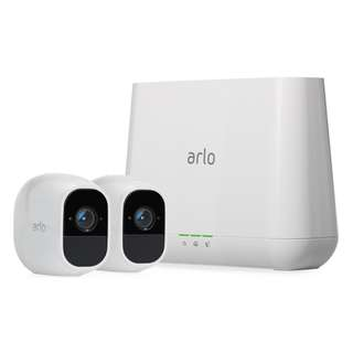 Netgear Arlo Pro 2 Smart Security System with 2 HD Cameras